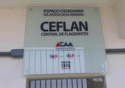 CENTRAL DE FLAGRANTES PLACAS